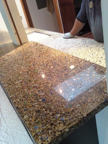 How To Beautify Your Kitchen With Recycled Gl Countertops Cost