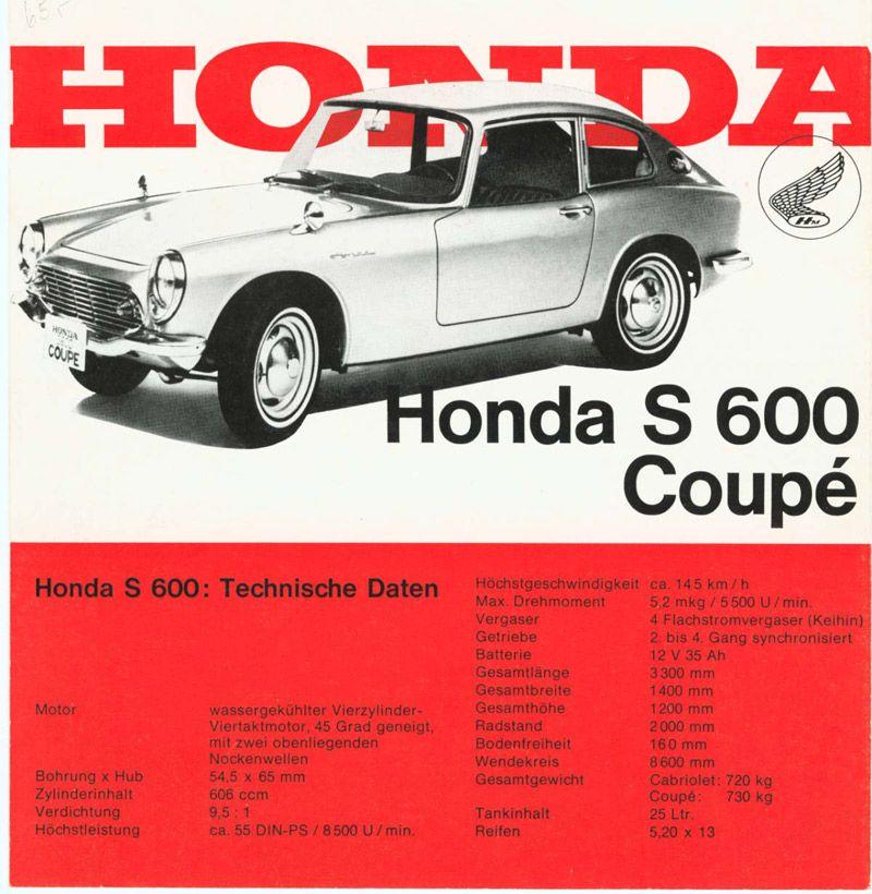 Honda S600