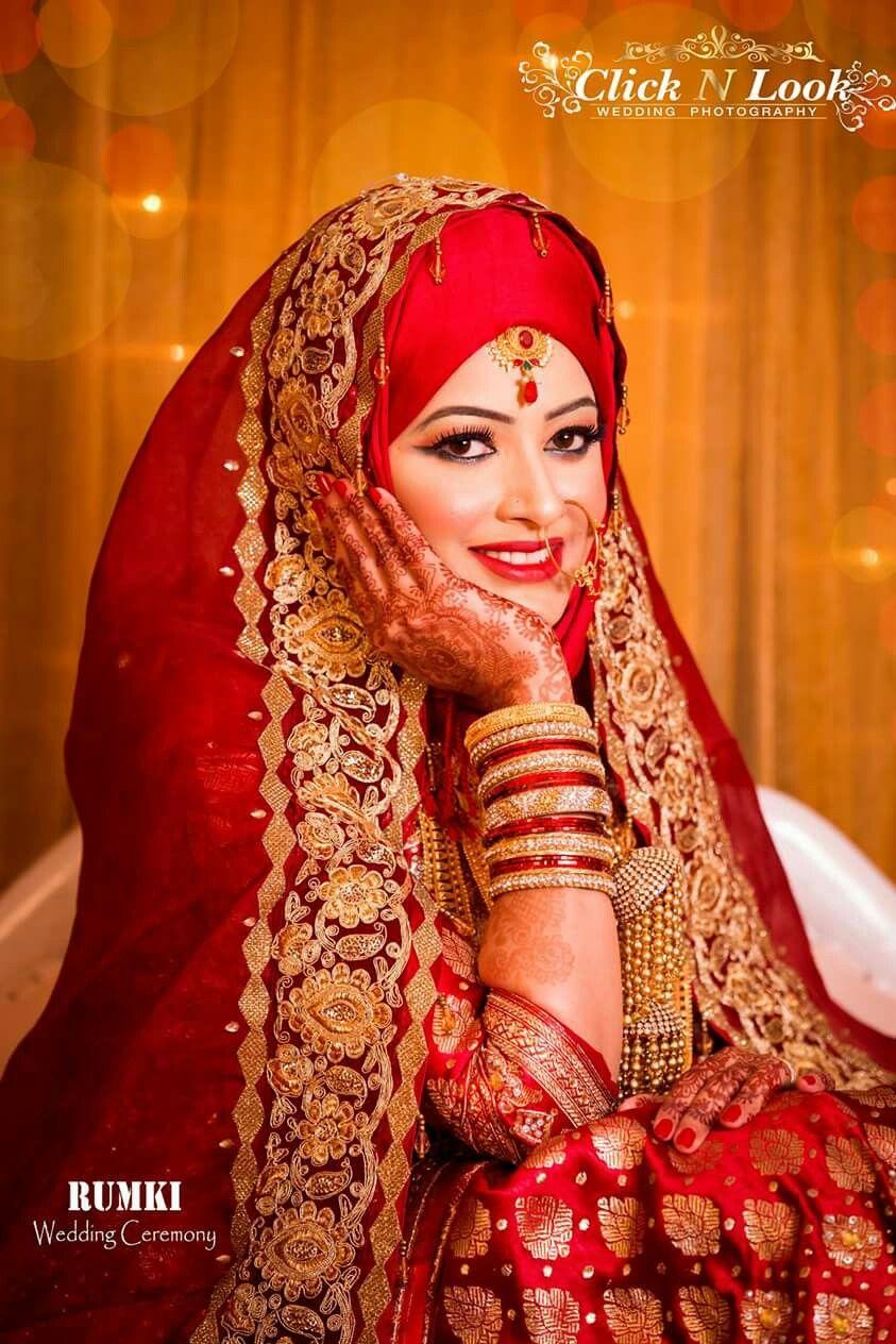 Pin von Ponchoma auf Bangladeshi hijabi brides | Pinterest