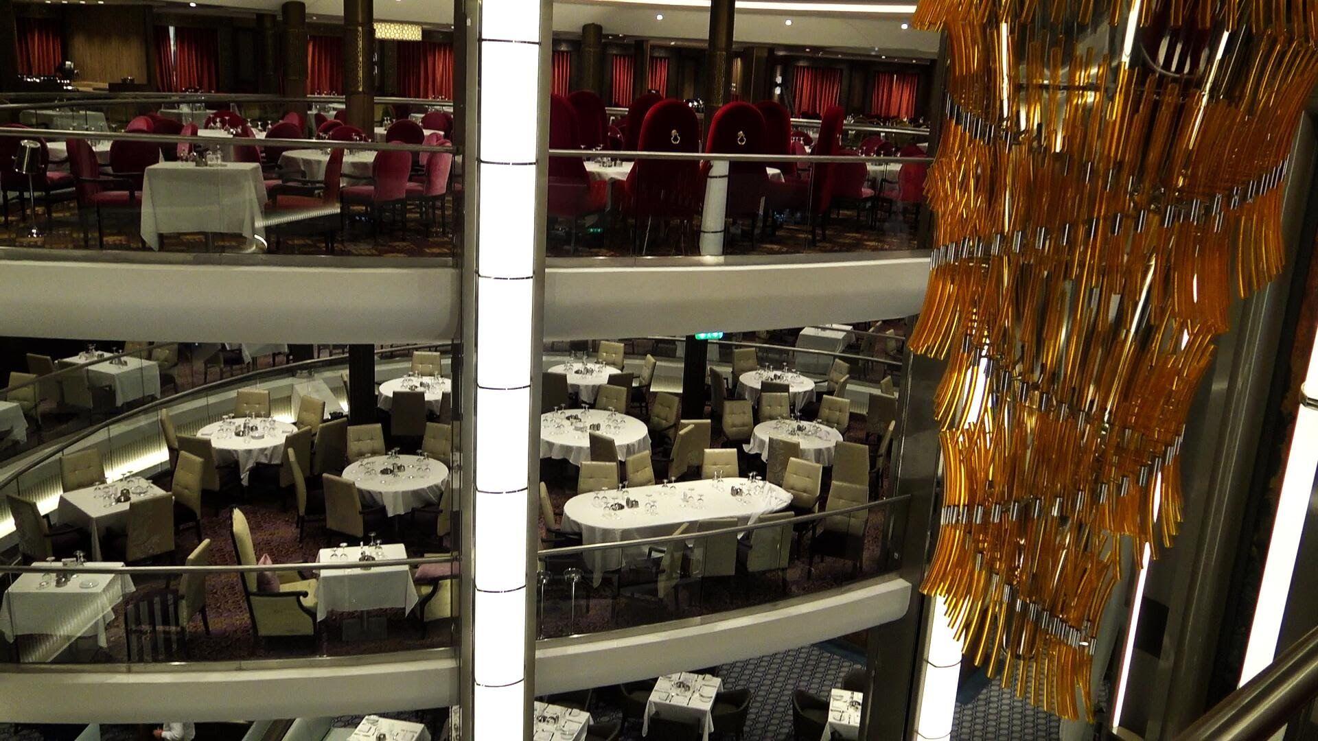 HARMONY OF THE SEAS TOUR MAIN DINING ROOM | Pinterest | Royal ...