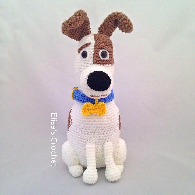 Ravelry: Max dog amigurumi doll pattern by Elisa\'s Crochet | soft ...