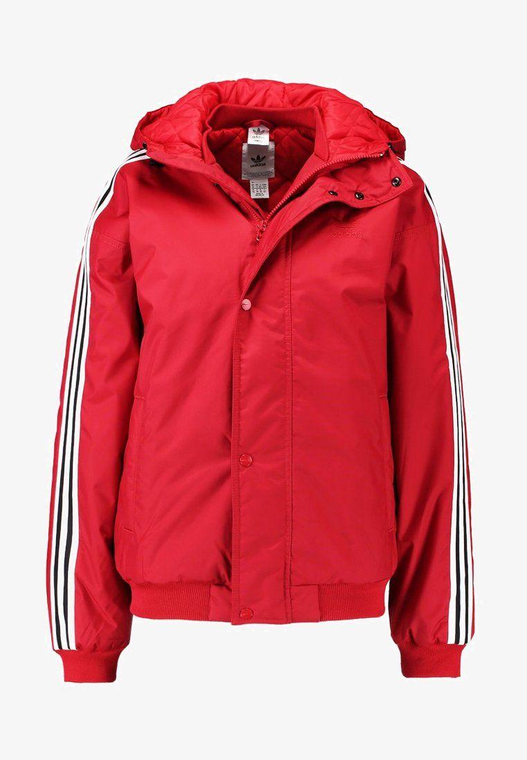 adidas Originals STADION - Chaqueta de invierno - real red ...
