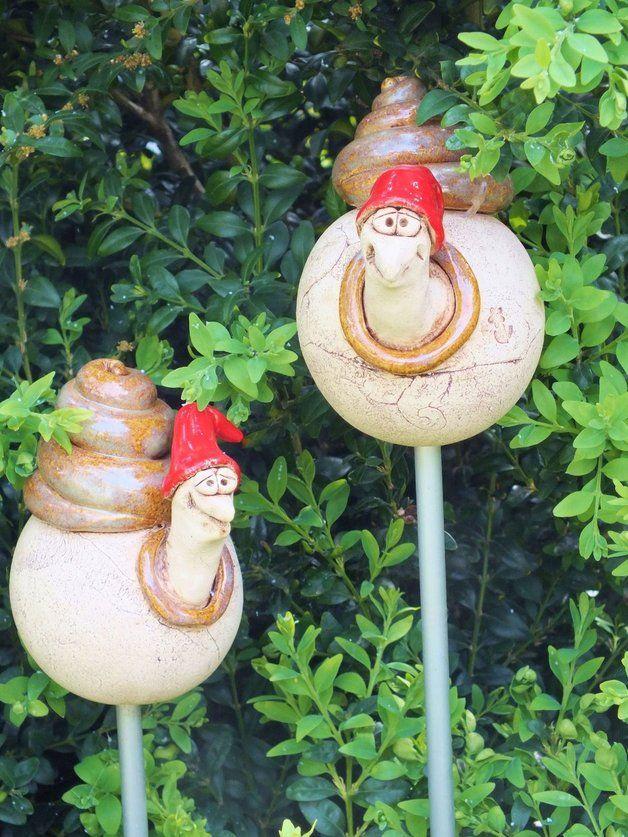 Http De Dawanda Com Product 62560023 Salatschreck Theo Gartenkeramik Rosenkugel Gartenkeramik Keramik Topferei
