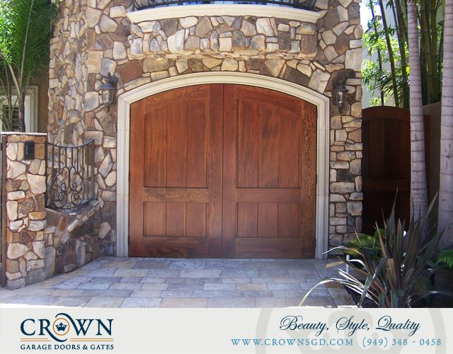 Tuscany Style Garage Doors Custom Made By Crown Garage Door