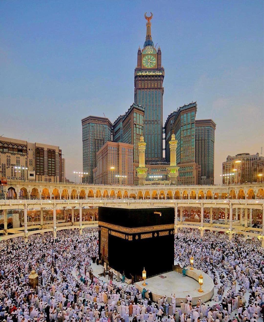 Makkah Arsitektur Islamis Gambar Kota Tanah Suci