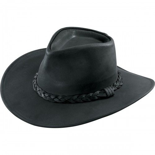 5cb06032e47831 Turtleman Hat   Classic Leather Cowboy Hat   Call of the Wildman Store