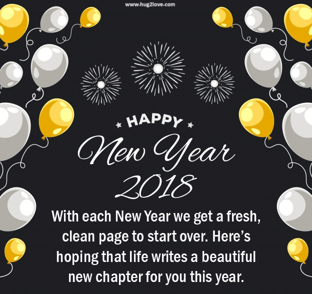Cute Happy New Year 2018 Quotes Messages Greeting Happy