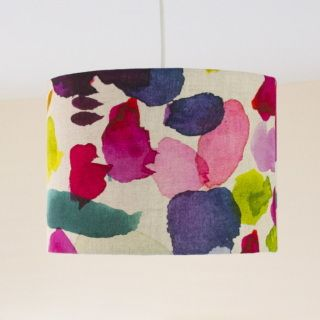 Photo of Lampshade in bluebellgray's Abstract fabric