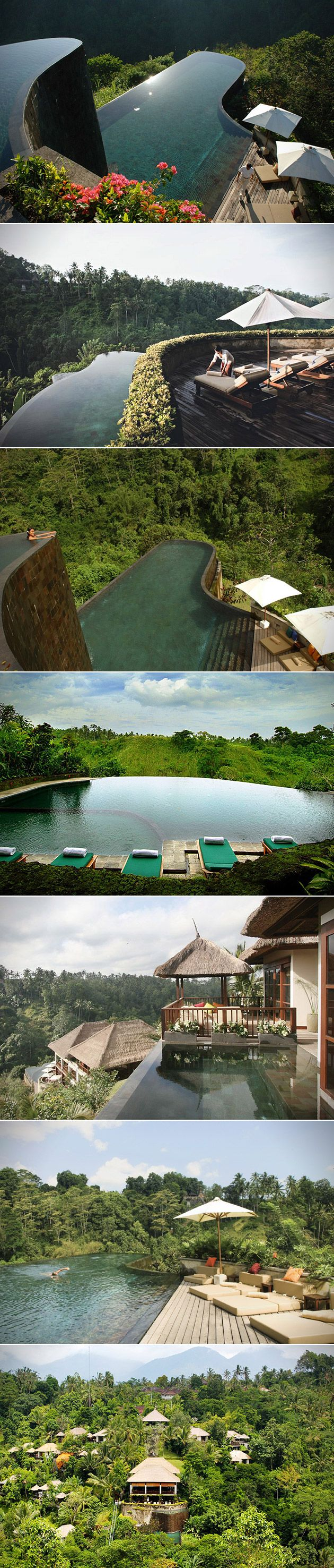 When it comes to truly breathtaking infinity pools there for Hanging garden pool ubud