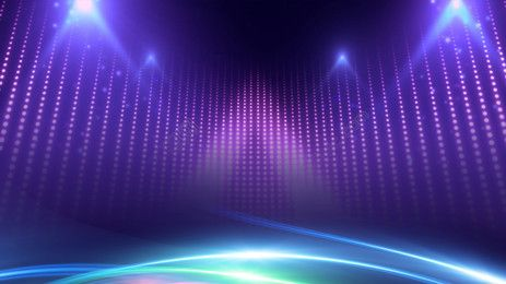 Photo of Atmospheric Stage Lighting Background