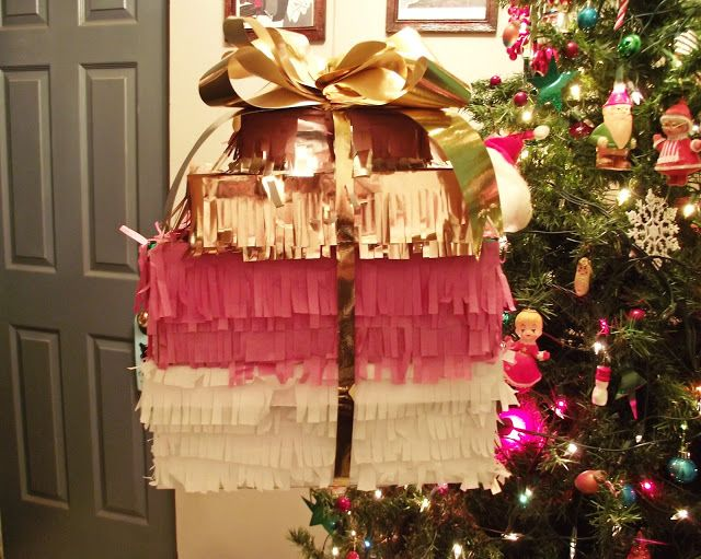 Llevo el invierno: Made by Me  Make a pinata for the holidays