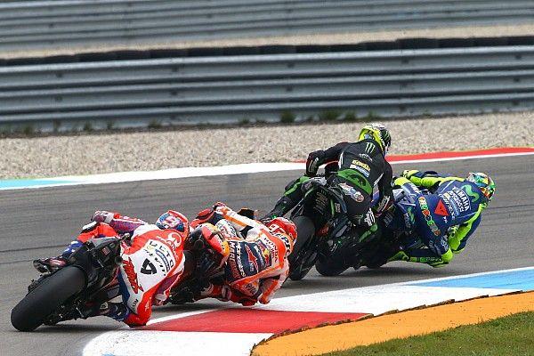 Motogp Nieuws Rossi Plaatst Vraagtekens Bij Inhaalactie Zarco Tijdens Tt Valentino Rossi 46 Graziano Luca Motogp En Wereldkampioenschap