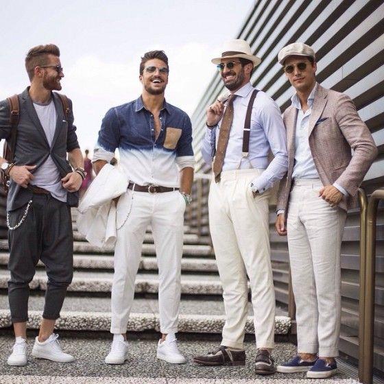 Italienischer mode stil manner