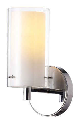 double cylinder glass wall sconce wall sconces ceiling lights