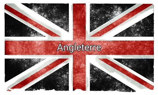 Drapeau Anglais En Noir Blanc Et Rouge Drapeau Anglais