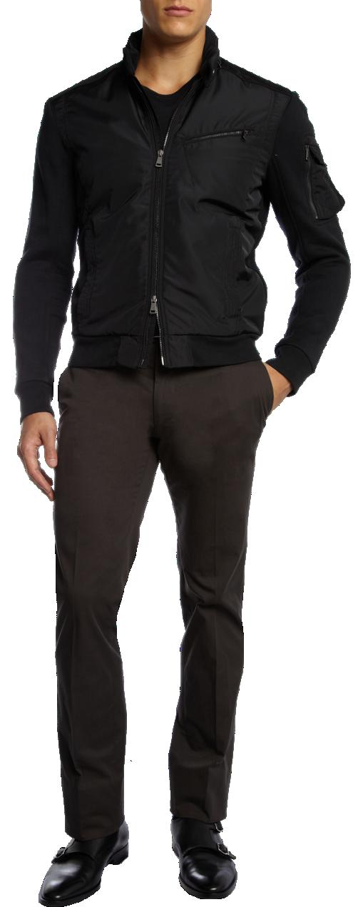 Polo Ralph Lauren Black Harrington Jacket Bomber   The
