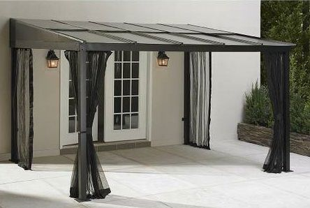 Grand Resort 10ft X 12ft Mural Add A Room Gazebo Sears Com Designed To Be An Extension Of Your Home Aluminum Roof Can Patio Gazebo Pergola Outdoor Patio