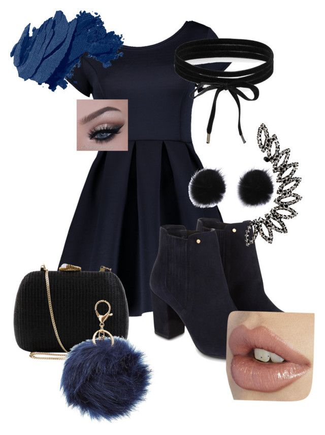 """""""Untitled #88"""" by xxprincessari on Polyvore featuring Monsoon, Serpui, Bobbi Brown Cosmetics, Charlotte Russe and Boohoo"""