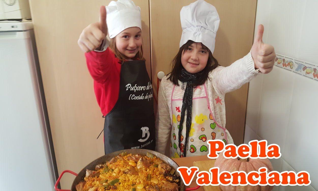 Paella Valenciana Receta De La Paella Valenciana Cocina Infantil  ~ Solomillo Wellington Masterchef Receta