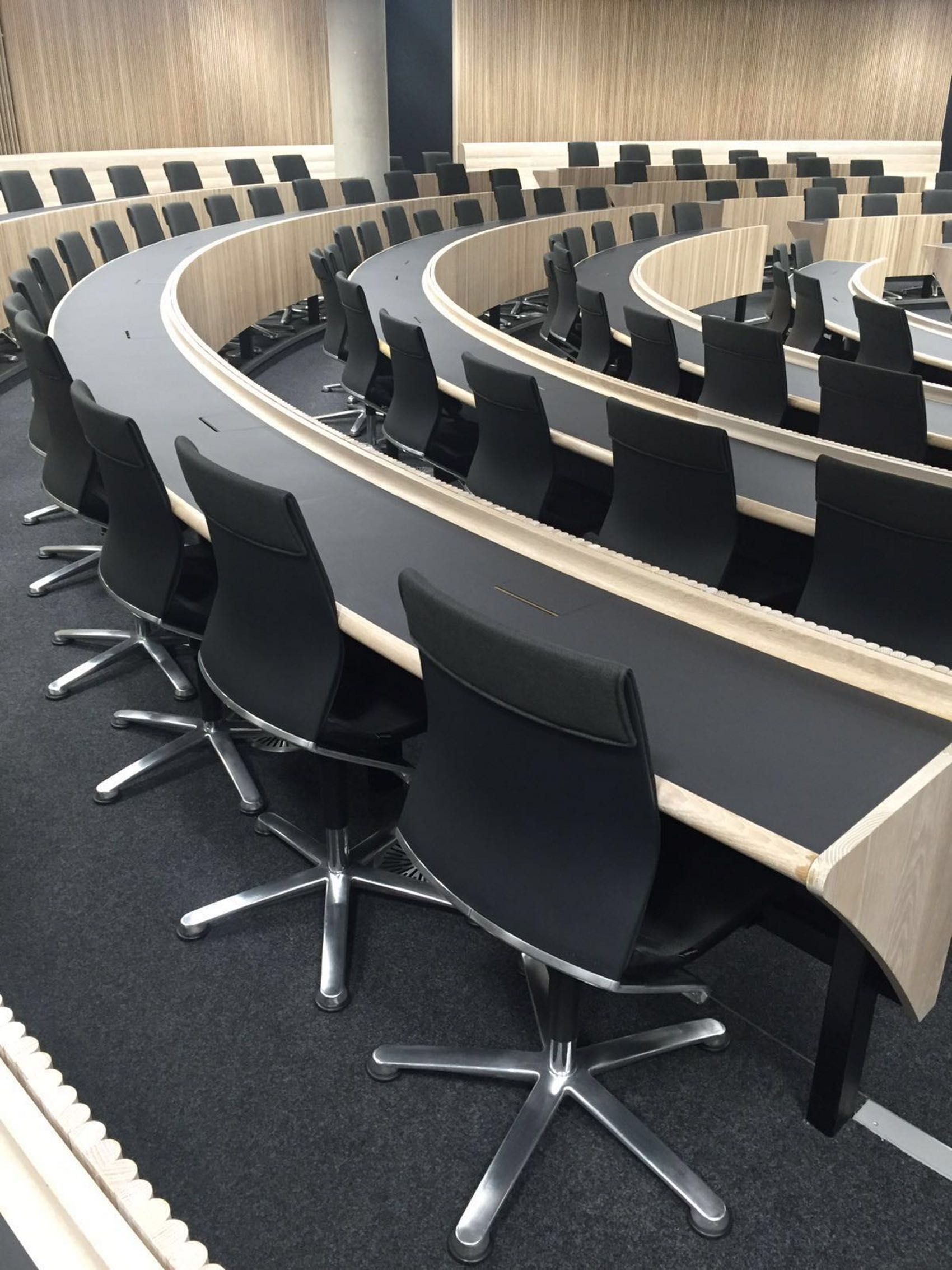 Stupendous Auditorium In Blavatnik School Of Government Oxford Pdpeps Interior Chair Design Pdpepsorg