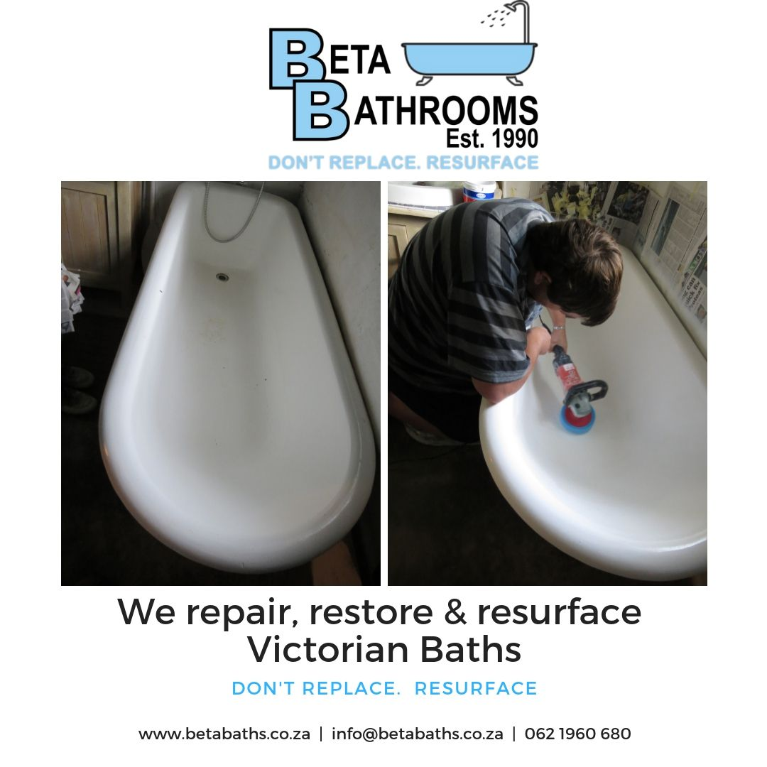 We Restore And Resurface Victorian Baths Either In Situ Or In