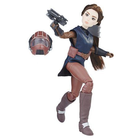 Star Wars Forces du destin Princesse Leia Organa Platinum Edition Figure
