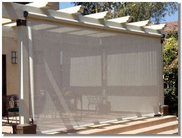 Outdoor Curtains Shades Drapes By Superior Awning Outdoor Blinds Outdoor Curtains Patio Shade
