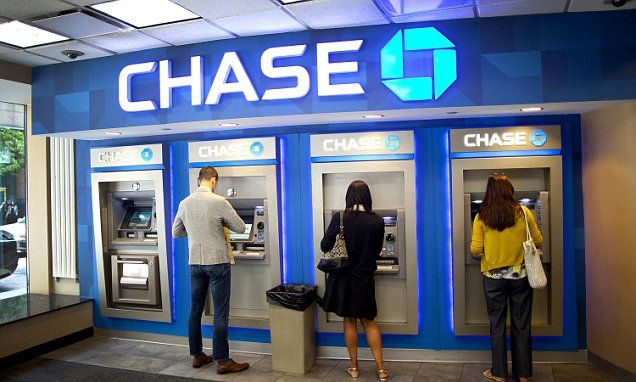 Chase Banks prepare to roll out ATMs that use an app to