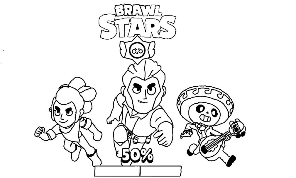 30 Grosse Brawl Stars Ausmalbilder Kids Ausmalbildertv In 2020 Ausmalbilder Paisley Malvorlagen Malvorlage Einhorn