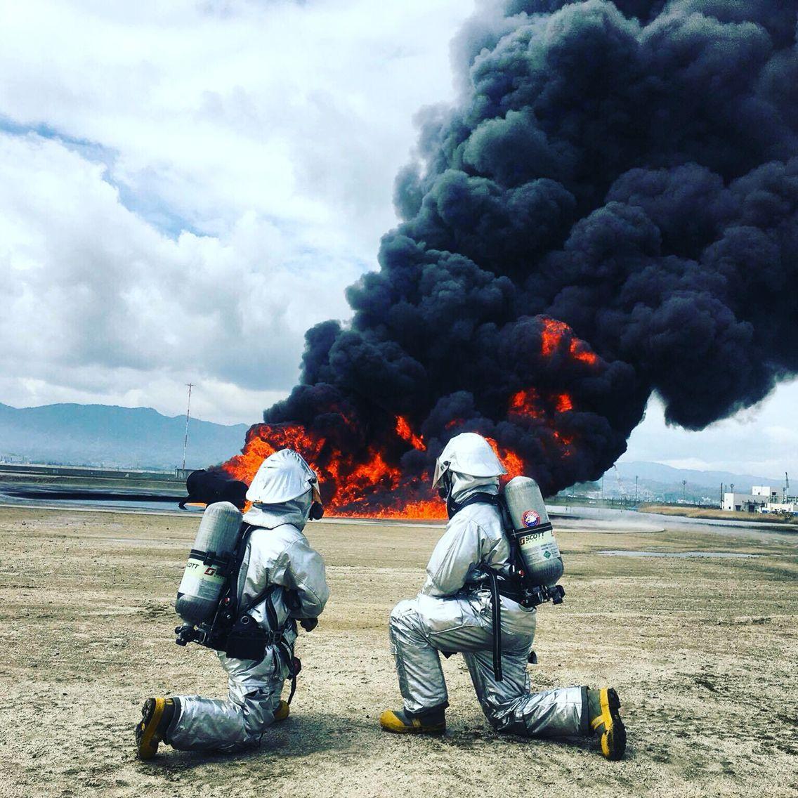 badass #firestarters #pit #ARFF #training #fires #fire #firefighter ...