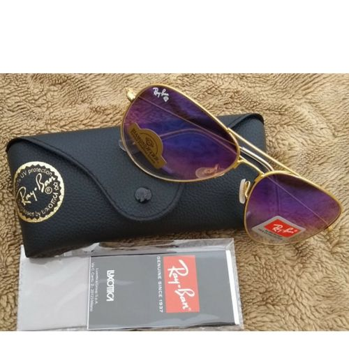 Oculos Ray Ban Aviator Azul Espelhado Rb3026 50off + Brinde   oculos ... f9a1fc2991