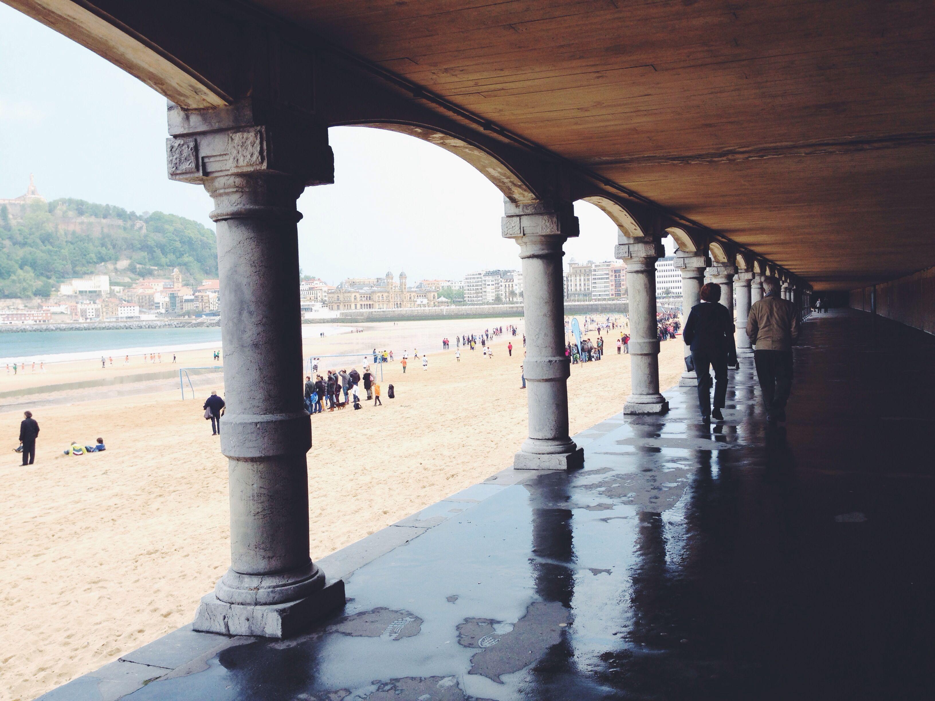 Donostia-San Sebastián - los bajos de la Concha