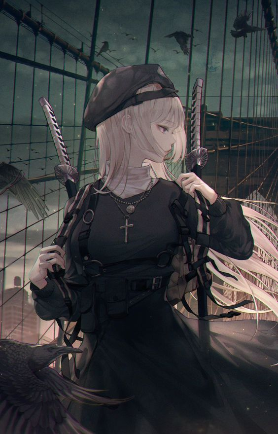 Photo of anime girlsss – _A. M_o_o_n_ Ospanova