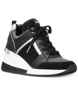Michael Michael Kors Georgie Trainer Sneakers Black 7.5M