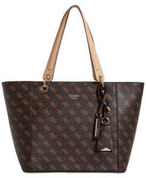 Guess Kamryn Extra-Large Tote - Brown