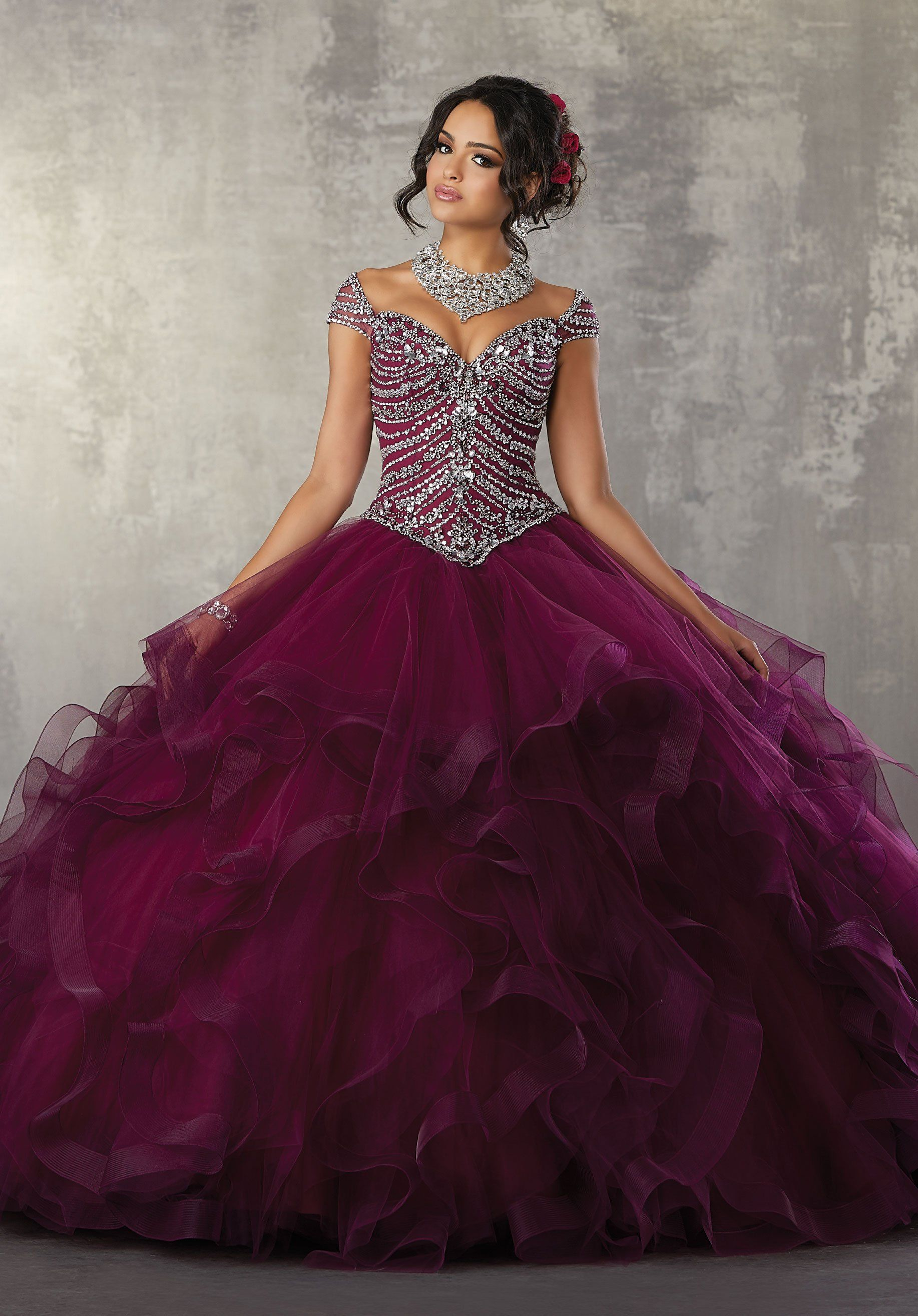 f104bfff911 Off the Shoulder Quinceanera Dress by Mori Lee Vizcaya 89162 .