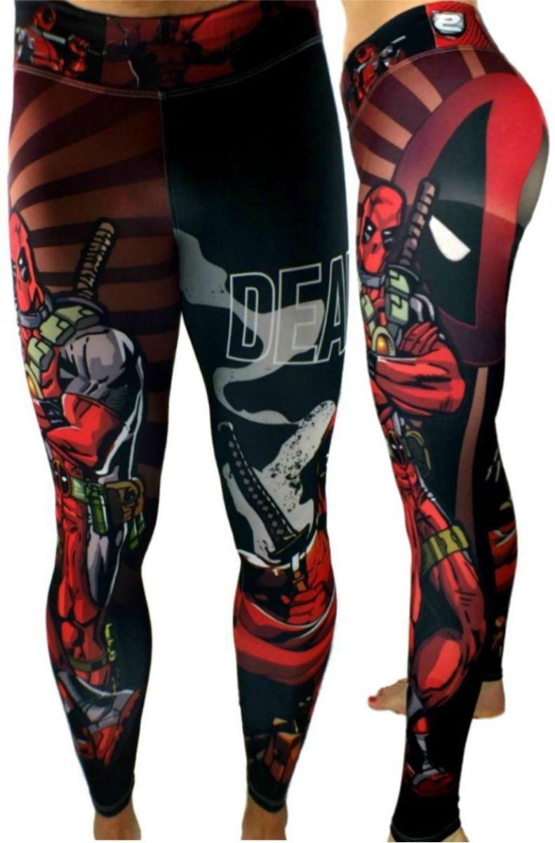 5b599d83dd S2 Activewear - UNISEX Deadpool Leggings - Roni Taylor Fit - 1 ...