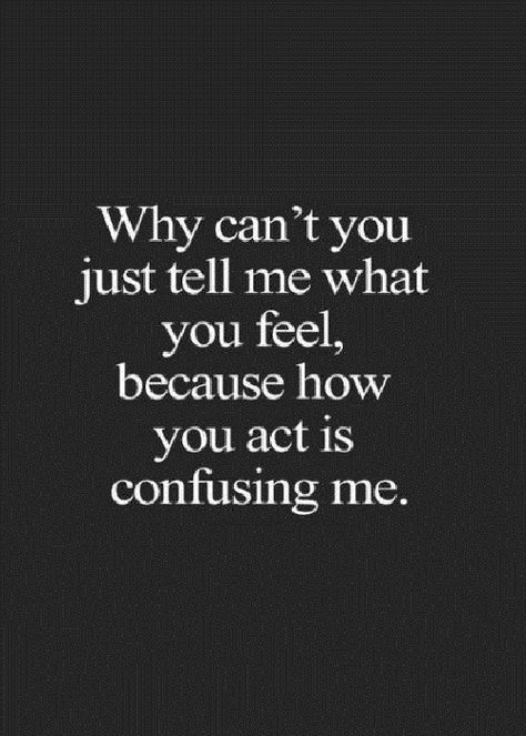 Just Tell Me