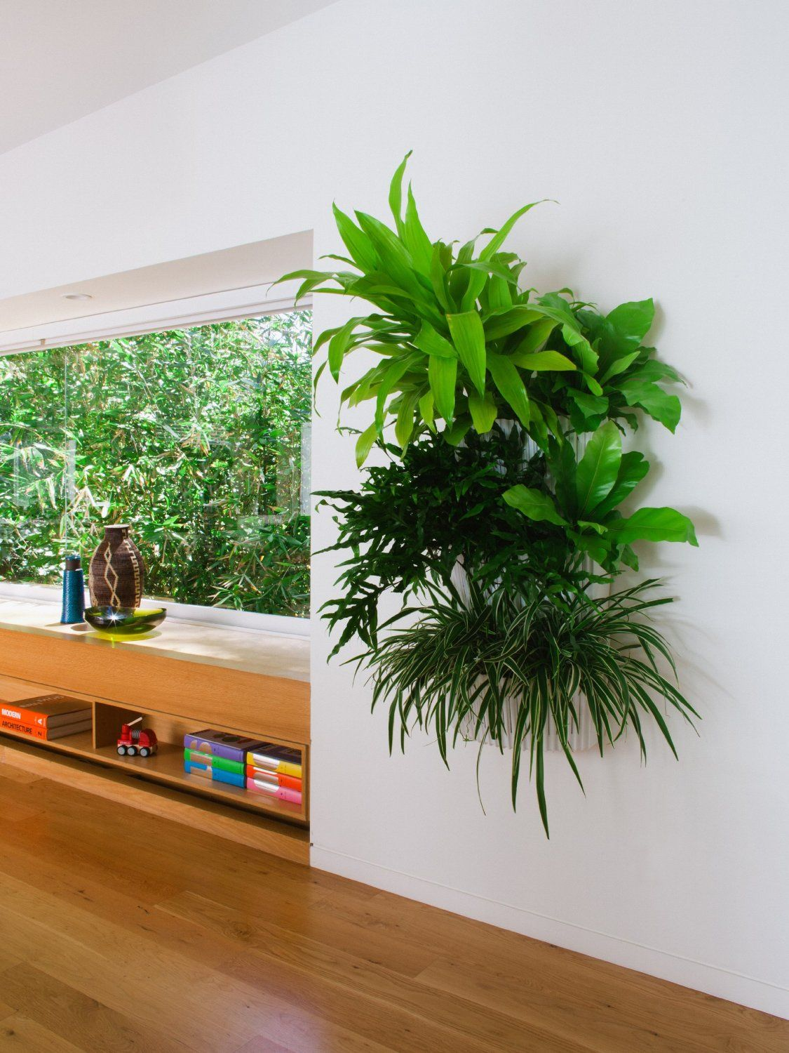vertical garden ideas for the office make it look like youve got plants