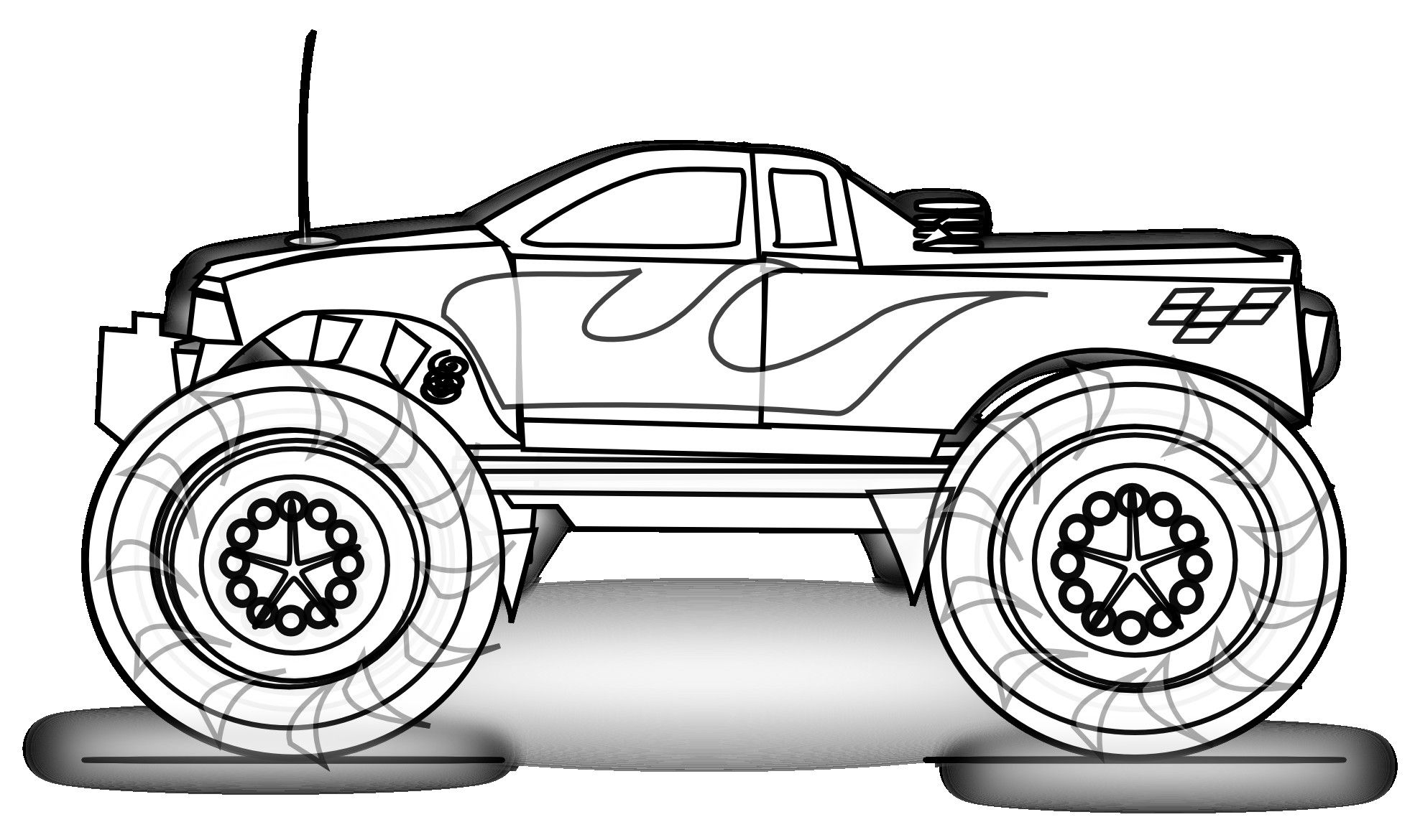 10 Images Of Truck Coloring Pages For Adults Coloring Pages Monster Truck Coloring Pages Race Car Coloring Pages Coloring Pages For Boys [ 1170 x 1969 Pixel ]