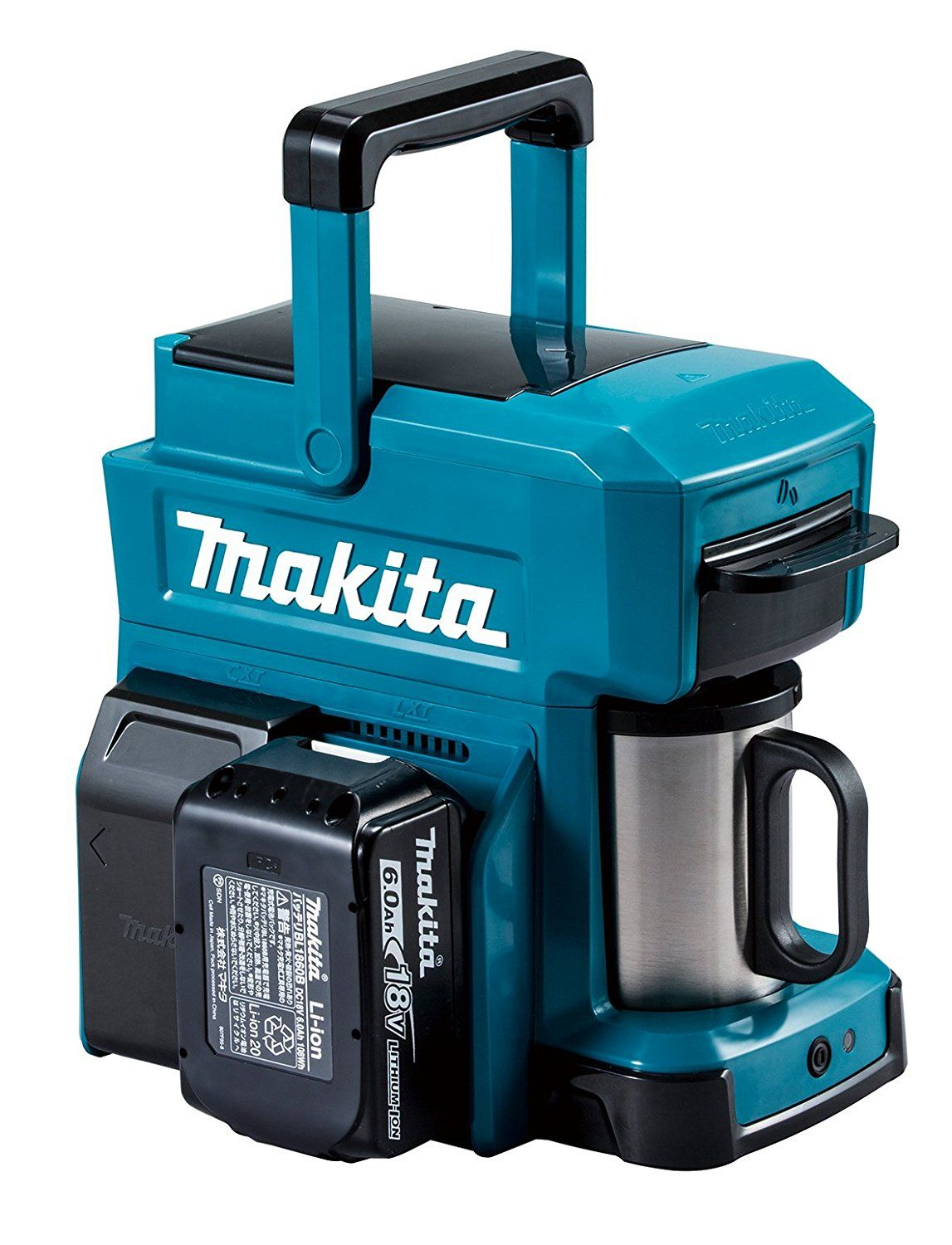 MAKITA Rechargeable Coffee Maker CM501DZ (Blue)【Japan Domestic ...