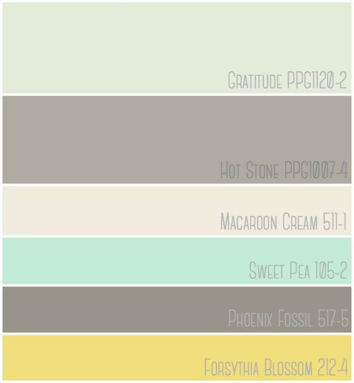 Budget Friendly Master Bedroom Makeover Featuring A Mint Grey And Yellow Color Palette Paint Colors Graude Ppg 1120 2 Hot Stone Ppg1007 4
