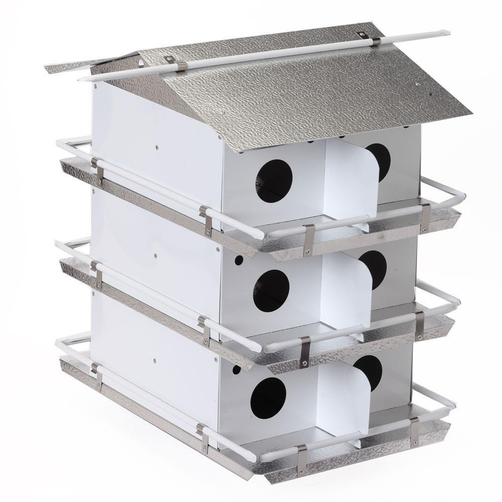 Birds Choice Coates Purple Martin House 3 Floor 12 Room Pre Assembled Ships Within 7 to 10 Business Days