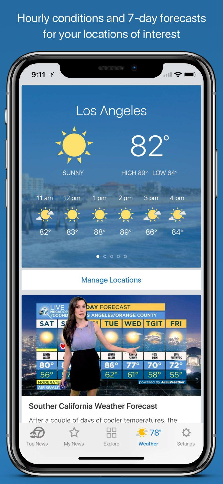 ABC7 Los Angeles #Weather#News#apps#ios | top iphone game