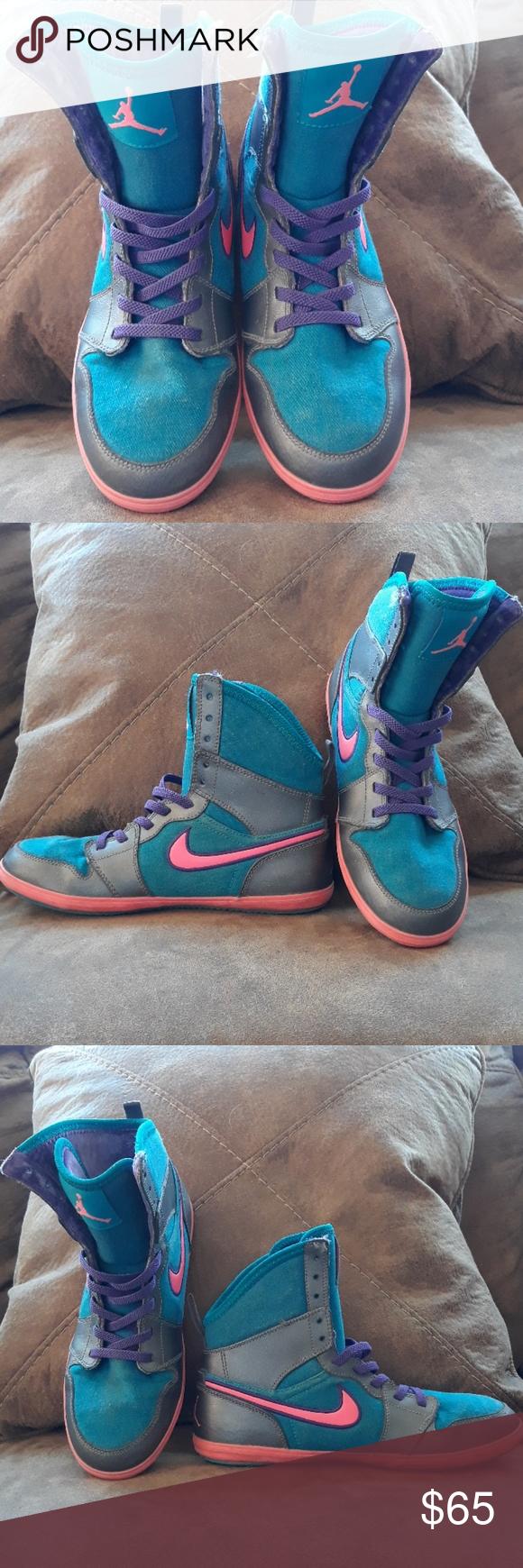 Nike Air Jordan 1 Skinny High Tops These are great kicks