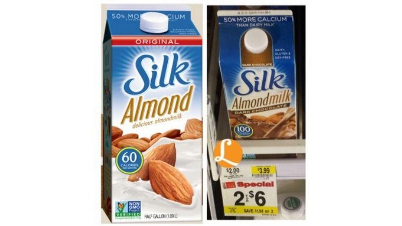 Silk Almondmilk Just 1 00 At Weis Silk Almond Milk Silk Milk Frugal