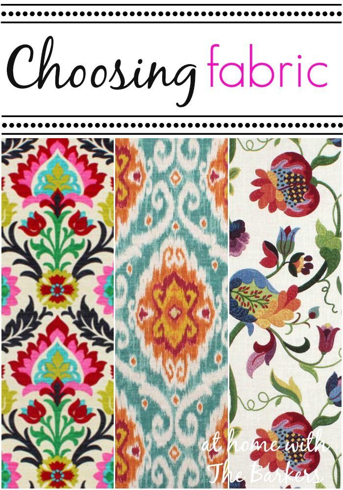 Choosing Fabric Choosing Fabric Fabric Kitchen Chairs Fabric