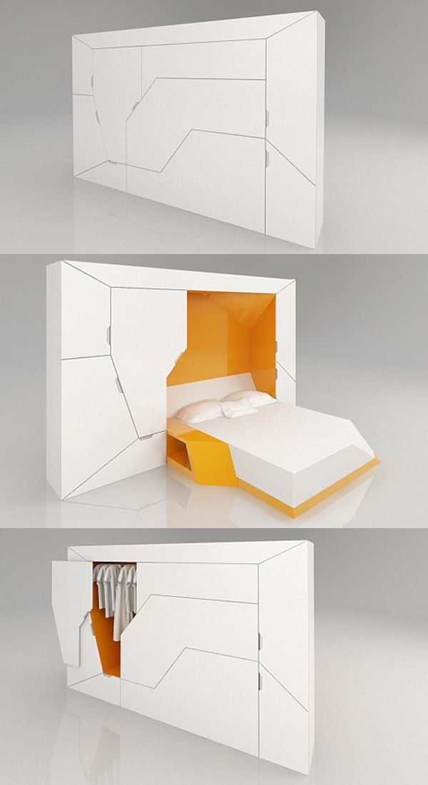 20 Exceptional Furniture Designs For Your Inspiration Hongkiat Space Saving Furniture Modular Bedroom Compact Furniture