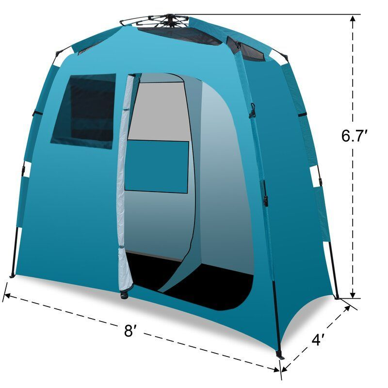 Shower Outdoor Portable Camping Beach Pop Up 2 Person Tent