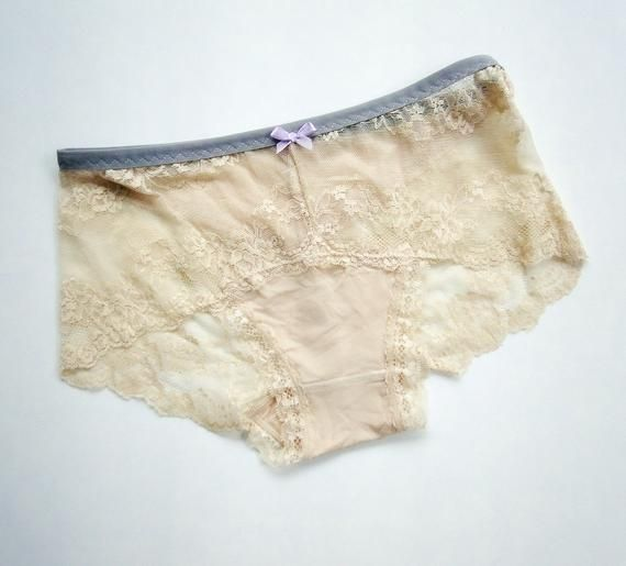 cdfeb38c730e high waisted lace panties - full coverage hipster underwear - bamboo  lingerie